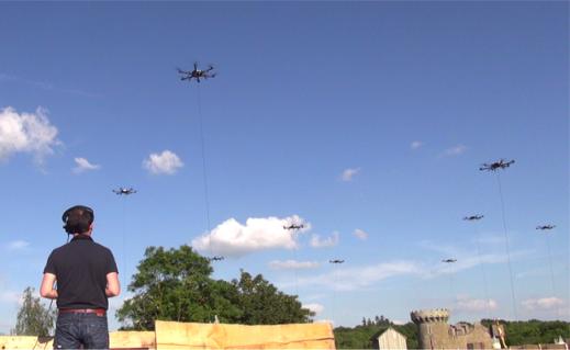 Ecole Pixiel de pilotage de drone